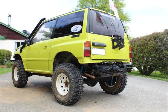 "Suzuki Vitara 3"" Suspension Lift Kit"