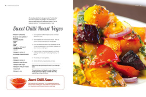 Sweet Chilli Roast Vegetable Salad