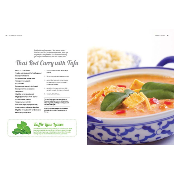 Thai Red Curry w Tofu