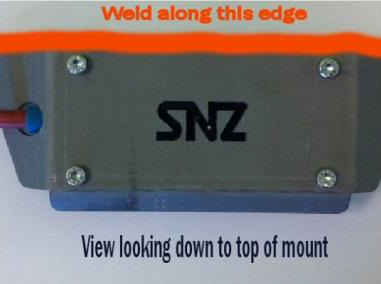 Transmitter - Hard Wired Direct Unit Accessories Weld On Side Mount
