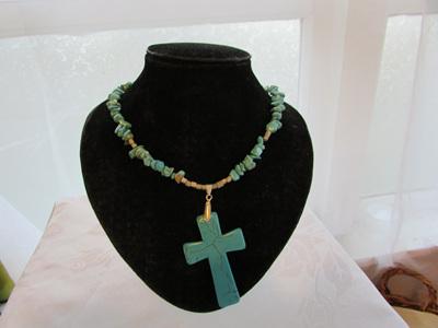 Turquiose Cross