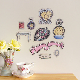 Vintage Timepieces wall decal  StickyTiny