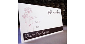We accept gift vouchers on our website.