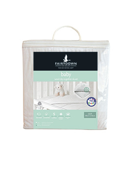 Wool Cot Duvet Inner - All Seasons Clip Together