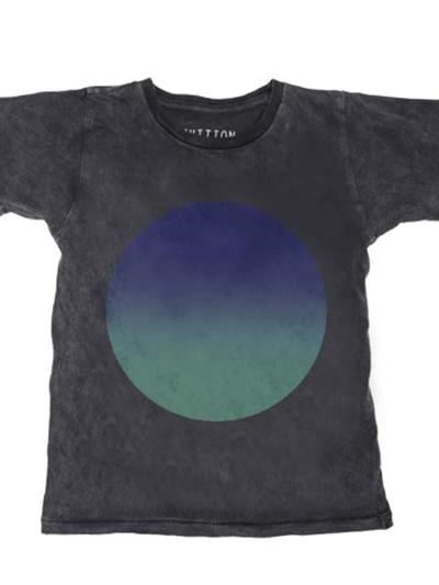 Zuttion - Gradient Circle Round Neck T