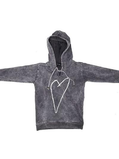 Zuttion - Heart Sweater Hoodie