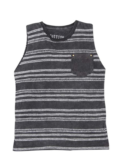 Zuttion - Rope Stripes Tank top