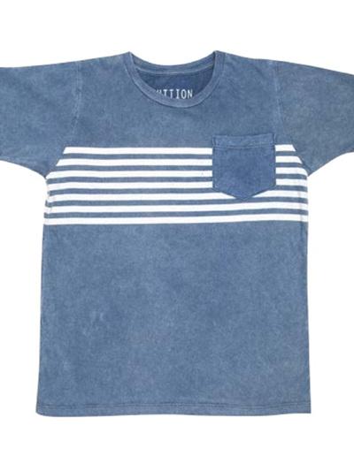 Zuttion - Seven Stripes Round Neck T